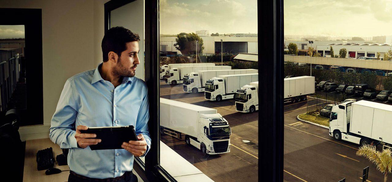 ניהול צי משאיות והתראות אונליין